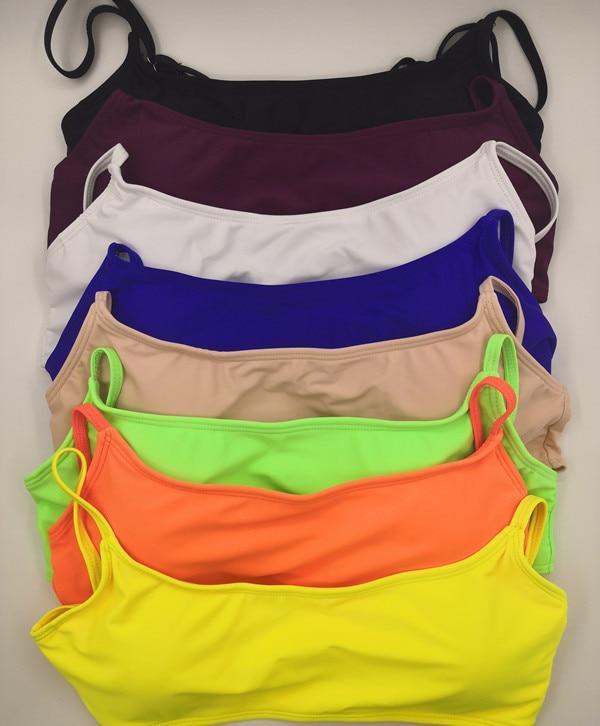 H226f581c62dc4dfd89f054f51715ff1dl New Solid Sexy Bikini Set Women Swimming Suit Fashion Swimsuit Two-Piece Swimwear Bathing Suit Female Biquini Plus Size XL Sets