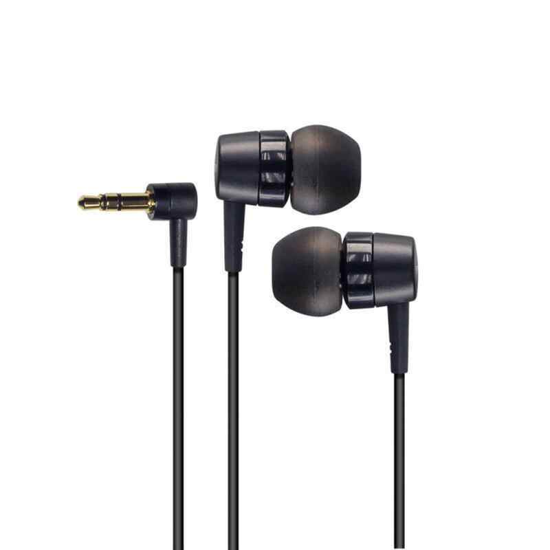MH755 Stereo Clear Earphone With Wire In-Ear Soft L Shape Sound Travel Bluetooth Device Earphones Portable For Sony