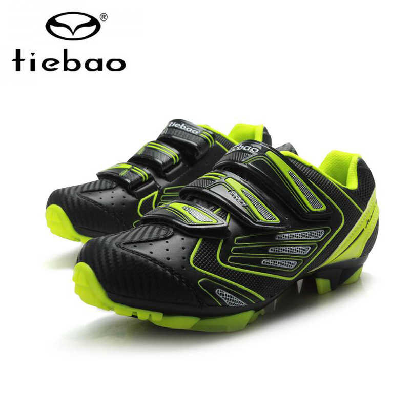 TIEBAO bisiklet sneakers dağ bisikleti ayakkabı yağmur kılıfı kış sapatilha ciclismo mtb bisiklet eldivenleri nefes sürme bisiklet ayakkabıları