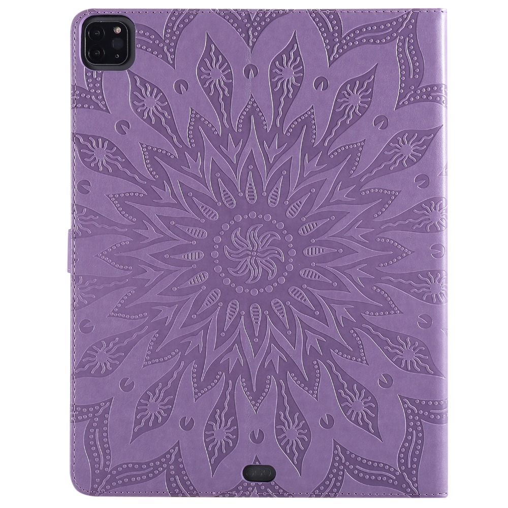 3D Shell Flower Protective Embossed Cover 2020 Pro Leather Case for 9 Skin iPad 12