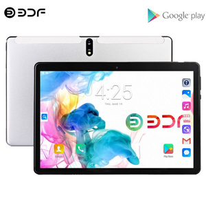 New 4G LTE Tablet Pc 10.1 Inch Octa Core Android 9.0 Google Tablets Dual SIM Cards GPS Google Play WiFi Bluetooth 4G Phone Call
