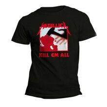 Tshirt Brand 2019 Male Short Sleeve Cool T-Shirts Designs Best Selling Men Uomo Donna Kill Em All Thrash Metal T Shirts