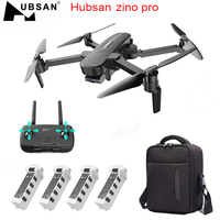 HUBSAN Zino Pro-helicóptero teledirigido con GPS, 5G, WiFi, 4KM, FPV, 4K, cámara UHD, cardán de 3 ejes, 2,4 GHz, cuadricóptero RTF inalámbrico
