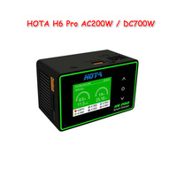 HOTA H6 Pro DUO AC 200W DC 700W 26A Battery Balance Charger for 1 6S Lipo Battery Parts Accessories