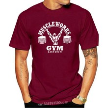 Original Muscle Works Gym London Big And Tall Sizes T-Shirts Various Colours Cool Casual pride t shirt men Unisex New Fashion
