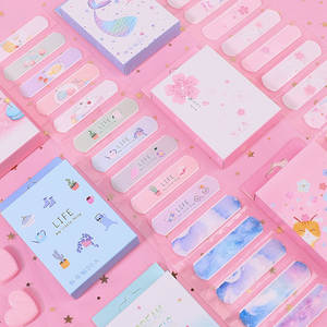 Band-Aid Wound-Sticker First-Aid Emergency-Kit Kids Cute Children Kawaii Home Disposable