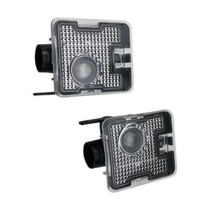 2 шт. автомобильный боковой светодиодный светильник ing Sign Лампа для проектора зеркало заднего вида светильник ing Добро пожаловать светильни...