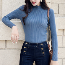 Women Sweater Winter knitted Turtleneck Sweaters Womens Fashion Woman Korean Pullover Sueter Mujer