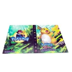 Image 5 - 240Pcsของเล่นสำหรับของขวัญPokemonesหนังสือAlbum Bookโหลดรายการการ์ดเล่น