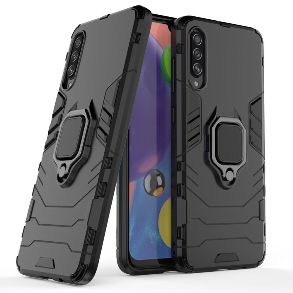 Для Samsung A8S A30S A31 A50S A91 A2S A41 A01 A70 A90 5G кольцо Железный человек мобильный телефон чехол Автомобильный кронштейн защита от падения рукав