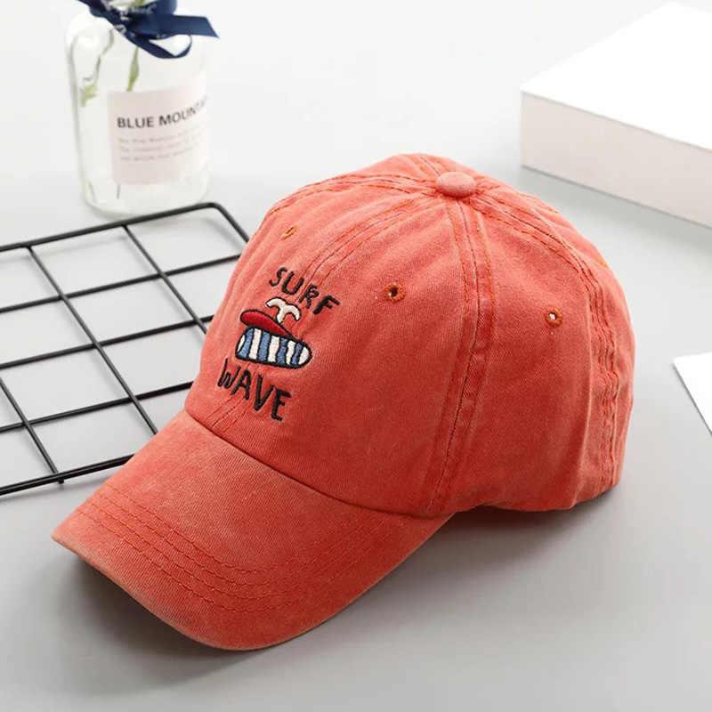 Vendita calda di lavaggio di modo retro distressed SURF baseball Cappellini per gli uomini e le donne per il tempo libero all'aperto di sport parasole cappelli di golf cap