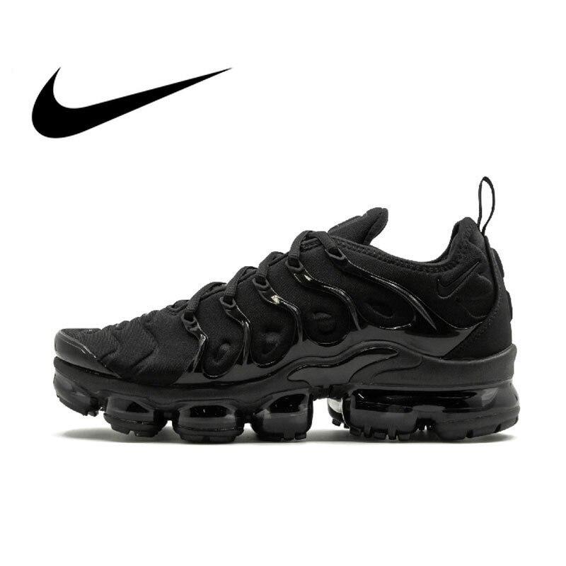 Original Autêntica Nike Air Vapormax Plus TM dos homens Correndo Sapatos Tênis Ao Ar Livre Respirável Confortável 2018 Nova Chegada 924453