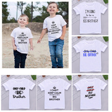 Boys Tshirt Matching Funny Kids Children I'm Again Top-Outfits Going-To-Be Pregnancy-Announcement