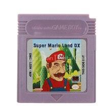עבור Nintendo GBC וידאו משחק מחסנית קונסולת כרטיס סופר מארי לנד DX גרסה בשפה אנגלית