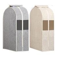 Подвесной мешок для одежды Breatbable пылезащитный чехол моющийся мешок для хранения одежды шкаф для хранения домашних запасов