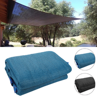 Blue Shelter Awning Moisture Proof Camp Durable Camping Canopy Tent Sun Shade Screen Outdoors Practical Portable