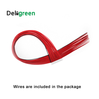 Deligreen BMS wire cable for 4S 15A 20A 30A 40A 50A 60A LiFePO4 BMS 13S NCM Battery pack image