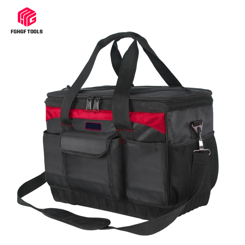 Professional Oxford Cloth Portable Tool Bag Storage Spanner Pouch Hardware Repair Tools Carpenter Electrician Package Toolkit