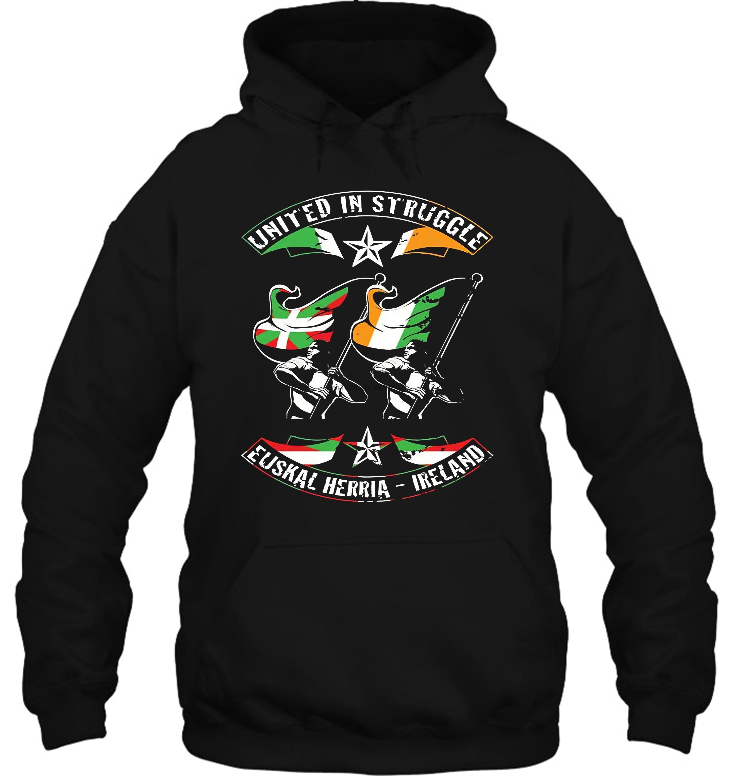EUSKAL HERRIA IRELANDindependencecatalunyabasque Countrystruggle Streetwear Men Women Hoodies Sweatshirts