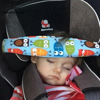 Dziecka fotelik samochodowy pozycjoner snu niemowlęta i małe dziecko zagłówek wózek spacerowy akcesoria dla dzieci regulowane mocowania pasy tanie i dobre opinie 13-18 M 19-24 M 2-3Y 4-6Y 7-9Y Sleeping safety strap 30*8cm Cotton 100 new and high quality HL3048