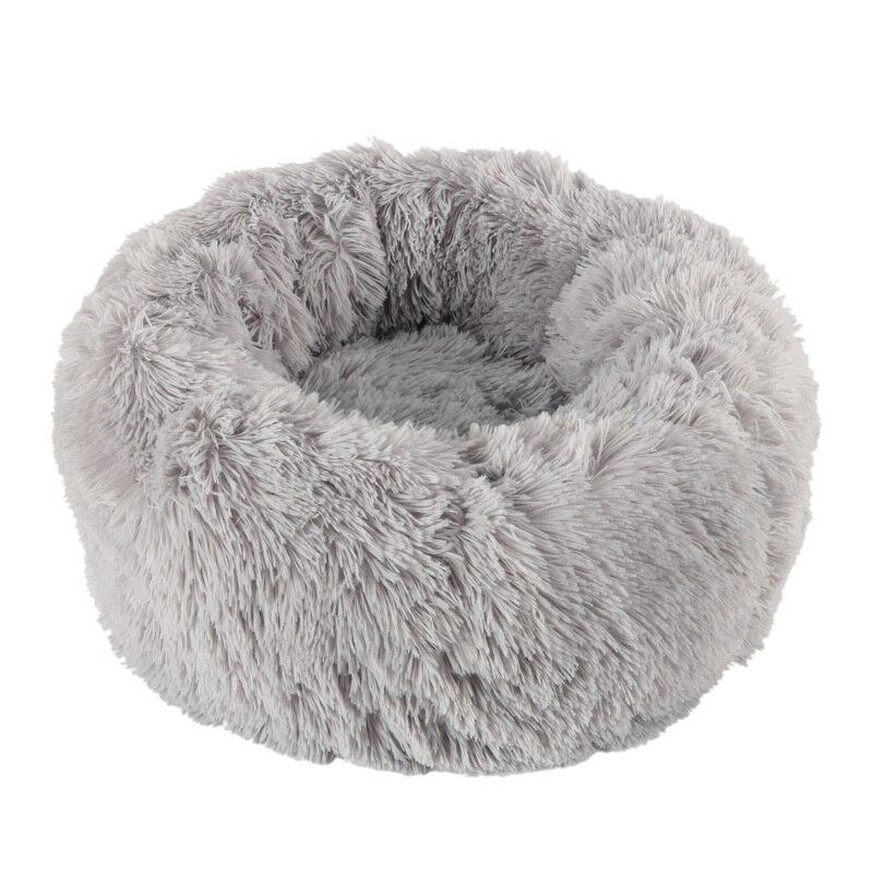 Willstar cama do cão inverno quente longo pelúcia camas de dormir soild cor macio pet cães gato tapete almofada dropshipping 3