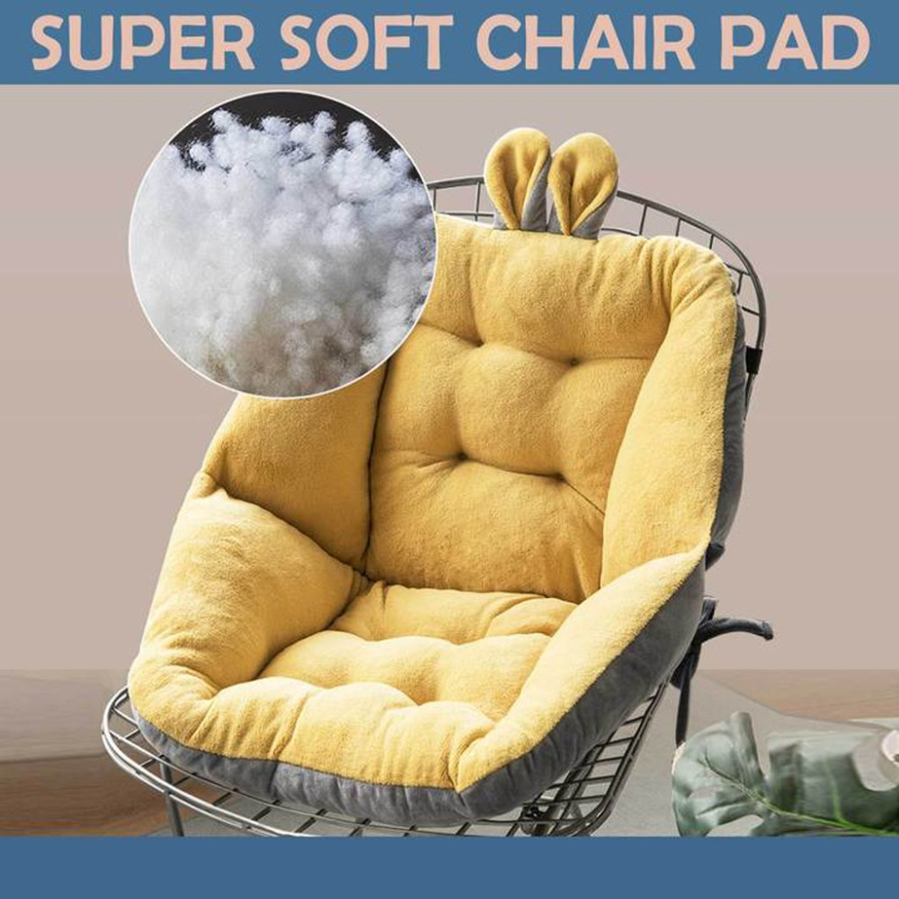 Seat Cushion Semi-Enclosed One Chair Cushions Desk Seat Cushion Warm Comfort  Pad (37)