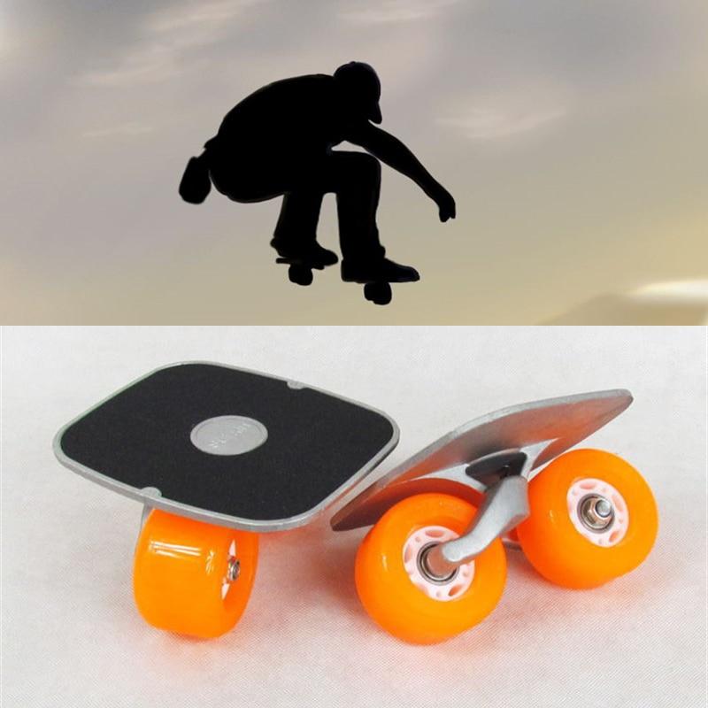 Portable Driftboard Easy Carry Freeline Roller Drift Board Foot Shift Skateboard Led Flash Skating Skate Board Free Shipping