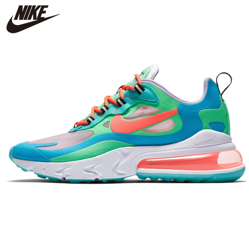 Nike Air Max 270 React Running Shoes For Women Air Cushion Outdoor Sports Sneakers Comfortable AT6174-002