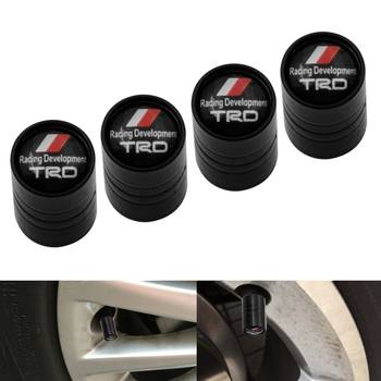 4 Pieces / Set Car Wheel Tire Valve Caps For Toyotas TRD VIOS avensis auris hilux Corolla Camry RAV4 Car Accessories image