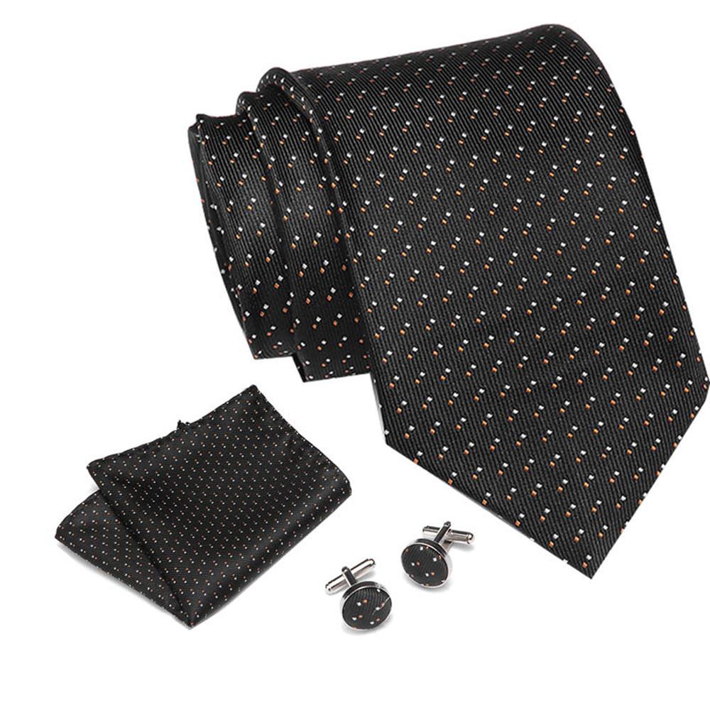 45 Style Neck Tie Men Skinny Necktie Wedding Ties Polyester Black Blue Dot Fashion Mens Business Bowtie Shirt Accessories