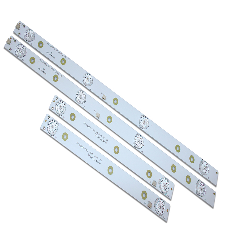 4pcs LED Backlight Strip Lamp For AKAI AKTV3221 32LED38P Smart JS-D-JP3220-041EC E32F2000 D32-0A35