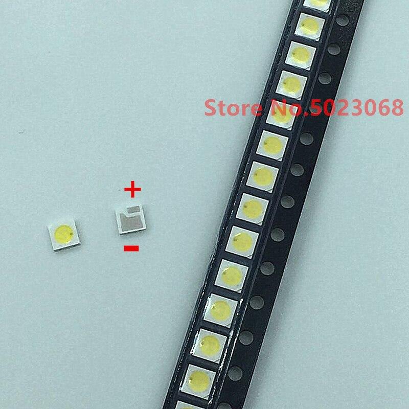 100pcs AOT Original For TV Backlight 3030 6V SMD LED LCD Backlight LED High Power Lamp Beads Diode Maintenance