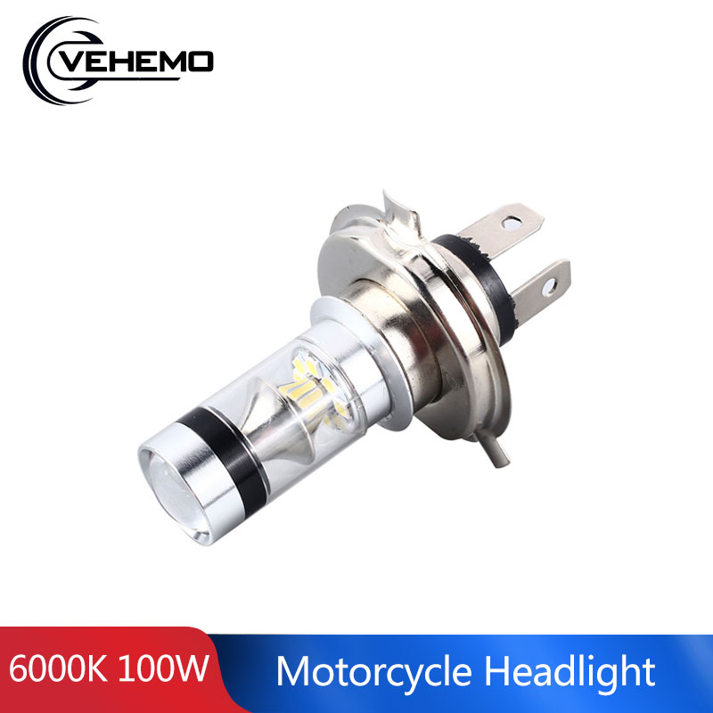 1PC H7 H11 H4 LED Fog Lamp For Car Motorcycle Headlight Foglights 1156 1157 7440 P15D Super Bright 6000K 100W Car LED Light