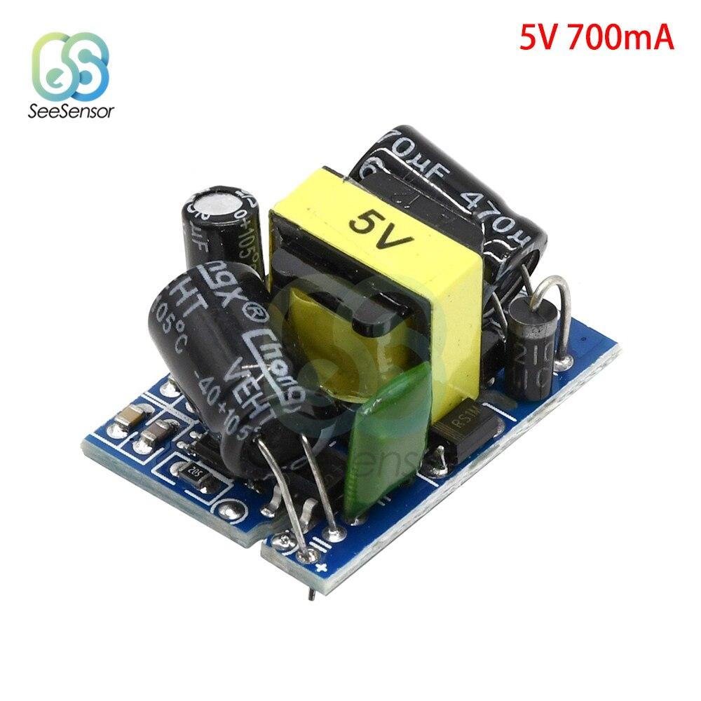 AC-DC понижающий преобразователь переменного тока 220 В в 3,3 В 5 в 9 в 12 В 24 в Ма модуль питания понижающего трансформатора постоянного тока