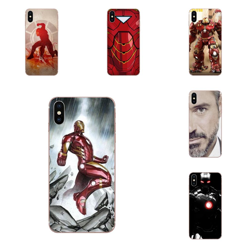 Iron Man Robert Downey Jr For Xiaomi Redmi Note 2 3 3S 4 4A 4X 5 5A 6 6A Pro Plus Soft TPU Phone Cover Case image