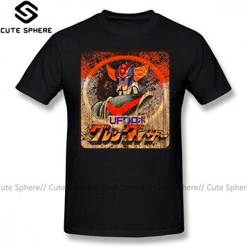 Goldorak T Shirt Goldorak T-Shirt 100 Cotton Fashion Tee Shirt Short-Sleeve Graphic Man 5x Cute Tshirt