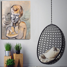 Picasso Man With Arms Crossed Canvas Painting Print Living Room Home Decor Modern Wall Art Oil Painting Poster Pictures Artwork pop art alec monopoly hd canvas painting print living room home decoration modern wall art oil painting posters pictures artwork