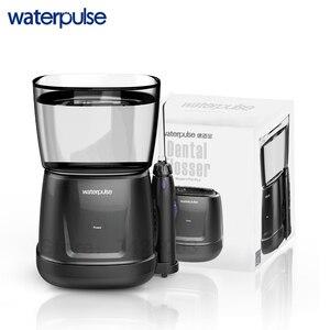 Image 5 - Waterpulse V700 avec 8 Buses de Jet Flosser Oral Dentaire Réservoir dEau de 1000 ml Irrigateur Conception Tactile Flux deau Irrigateur Dentaire Portable Imperméable à lEau