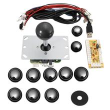 Take Single Diy Arcade Joystick Accessories Usb Computer Joystick Chip Control Board Arcade Rocker Button Kit compare