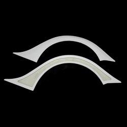 Samochód stylizacji dla Nissan GTR R35 VRS styl 14 'wersja z włókna szklanego tylny błotnik Flare FRP włókno szklane nadkole pokrywa część zestaw wykończenia|Zestawy karoserii|   -