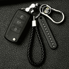 Car Keychain Keyring Phone-Number-Plate Anti-Lost Auto Vehicle