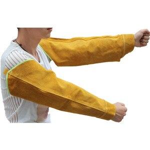 Image 2 - 1 Paar Hittebestendige Lassen Arm Mouwen Bescherming Manchet Veiligheid Voor Werknemers NC99