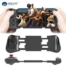Mocute 050 update 058 Wireless Bluetooth Gamepad PUBG Gaming Controller Telescopic Joystick VR Remote Control for Android Phone new upgrade wireless gamepad bluetooth game controller gaming joystick for android ios smart phone remote controller for vr
