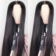 Straight Human Hair 30 Inch 4x1 Lace Part Wigs For Women Aircabin Brazilian Glueless Middle Part 130% Density Natural Color Wigs