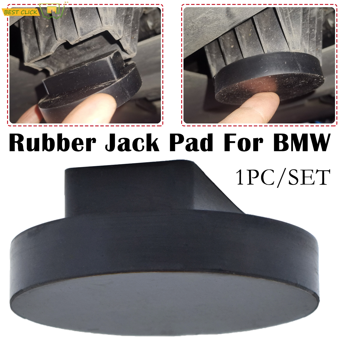 Rubber Jacking Point Jack Pad Adaptor For BMW 3 4 5 Series E46 E90 E39 E60 E91 E92 X1 X3 X5 X6 Z4 Z8 1M M3 M5 M6 F01 F02 F30 F10