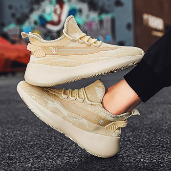 2020 New Men's Casual Shoes Summer sports breathable trendy shoes running shoes High quality Lace Up Men's Shoes Tenis Masculino