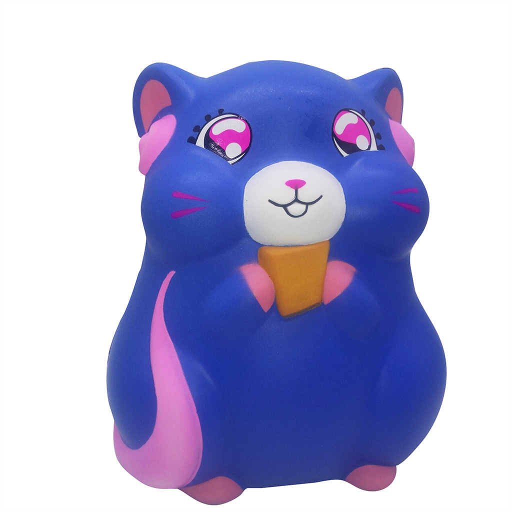 Squishy Kawaii Gigantes Fun Squeeze Toys Squishy Huge Adorable Hamster Slow Rising Kids Stress Reliever Decompression ToyW725