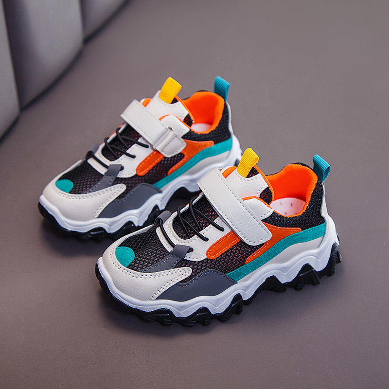 Spring Autumn Kids Shoes Breathable Boys Girls Sport Shoes Children Casual Sneakers Baby Running Shoes Mesh Canvas Shoes