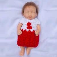OtardDoll 10 inch Reborn baby doll 25cm Full Silicone Reborn dolls lifelike Bonecas Cute toy for Birthday Gift
