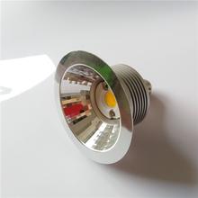 7W 10W AR70 BA15D COB LED reflektor żarówka AC220V-240V 3000 4000 6000K zastąpić 60W lampa halogenowa do domu handlowego oświetlenie 4 sztuk tanie tanio ONDENN Awaryjne ROHS BA15d LED Spotlight Aluminium 5years 7W LED AR70 Bulb Polished chrome 220 v Żarówki led